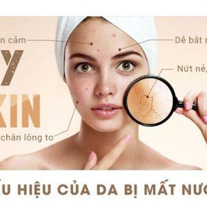 Hiểu về làn da khô mất nước